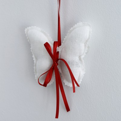 Lavender Butterflies - Red
